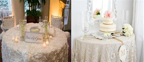 Rustic Wedding Table Linen Ideas