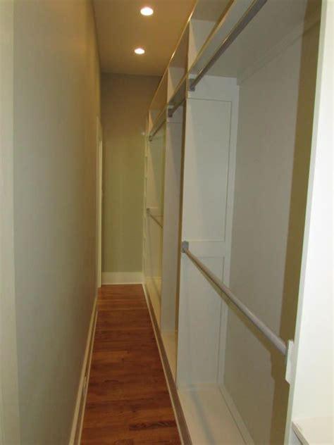 best 25 narrow closet ideas on