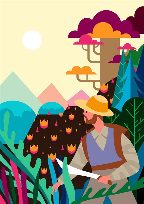 Nature Explorer Illustration 230192 Vector Art at Vecteezy
