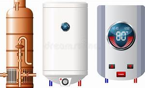 Water Heater With Wi Fi Connection Icon Monochrome Stock Vector