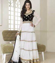 Pics For > Jennifer Winget In White Salwar Kameez