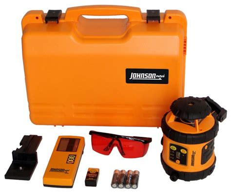 Johnson Self-leveling Rotary Laser Level With Hard-shell