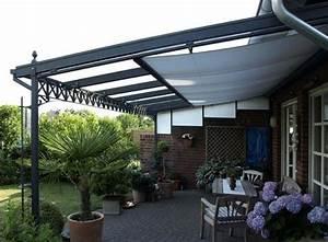 Terrassendach mit markise garten pinterest for Markise balkon mit schwarze tapete wohnzimmer