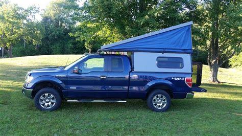 truck camper  vw inspired pop  camper van roof