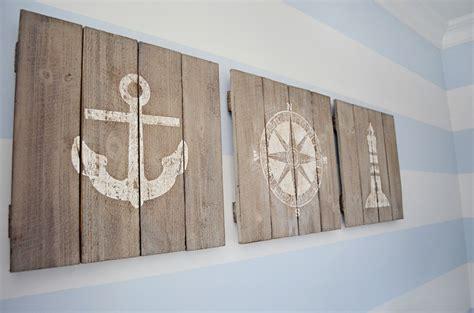 wooden sailboat wall decor maverick s nautical nursery project nursery