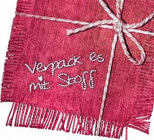 Geschenk Verpack Ideen : f r mehr geschenkverpackungen aus stoff www stoff blog stoff vom blog stoff ~ Markanthonyermac.com Haus und Dekorationen