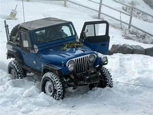 Jeep CJ7 On Ice Jeep Enthusiast