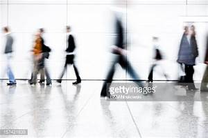 Motion Blurred People Stock Photo   Getty Images