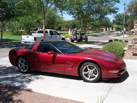airbag deployment 2001 chevrolet corvette transmission control buy used 2001 corvette coupe excellent condition magnetic red supper clean unmolested in