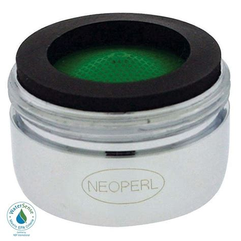 neoperl 1 5 gpm regular male water saving faucet aerator