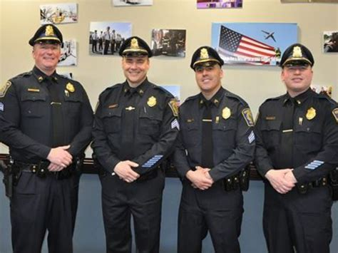 Four Foxborough Police Officers Promoted  Foxborough, Ma
