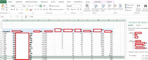 excel spreadsheet pivot table excel pivot table hide rows where all measures are blank