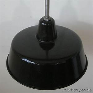 Lampe Und Schwartze : schwarze emaille lampe fabriklampen ~ A.2002-acura-tl-radio.info Haus und Dekorationen