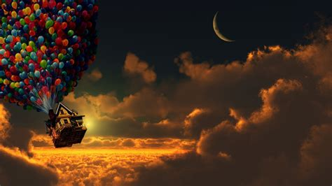 Up Animated Wallpaper - pixar animation studios sky clouds wallpapers hd