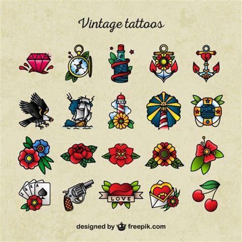 Old School Americana Tattoos