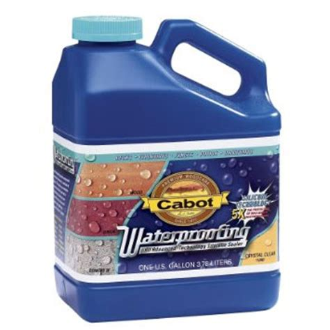 cabot waterproofing  silicone water based wood sealer
