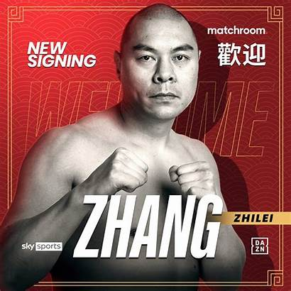 Zhang Heavyweight Chinese Promotional Deal Signs Boxing