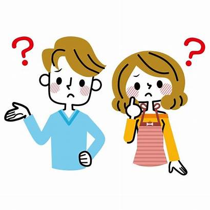 Thinking Divorce Things Parents Clipart Questions Focus