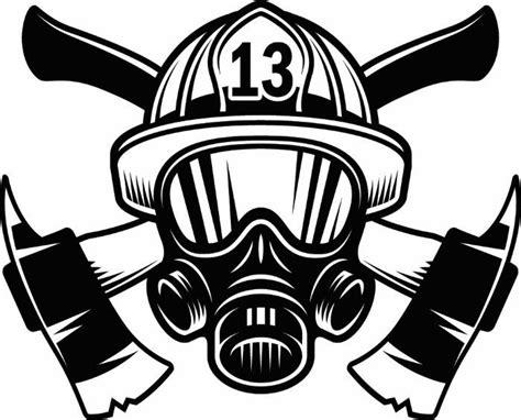 14074 firefighter helmet clipart black and white firefighter logo 1 firefighting rescue helmet mask axes