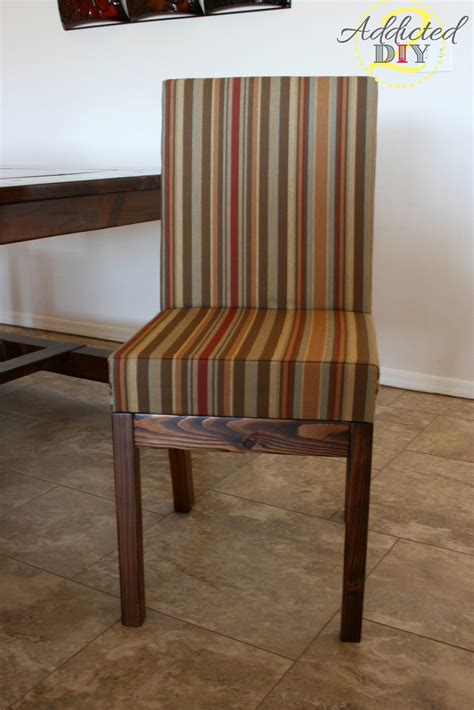 Upholstery For Dining Chairs by White Diy Upholstered Dining Chairs Diy Projects