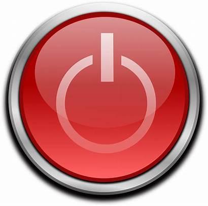 Computer Button Start Power Pixel Proyectos Hl