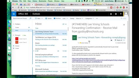 Office 365 Email by How To Forward Email From Gmail To Office 365 And Vice