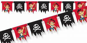 Jake & the Neverland Pirates Flag Banner - Pirate Party
