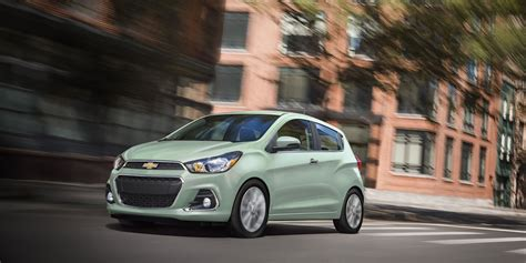 airbags   chevrolet spark safety features