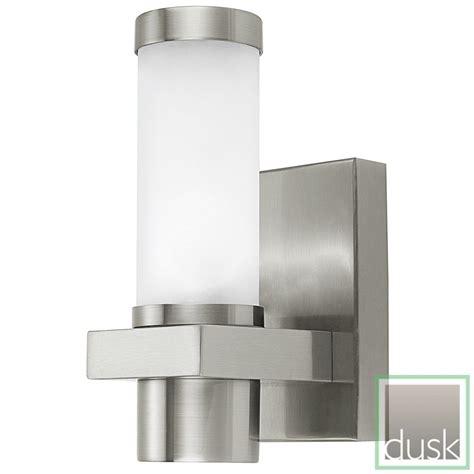 eglo konya exterior stainless steel wall light discount