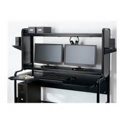 fredde workstation black 185x140x74 cm ikea