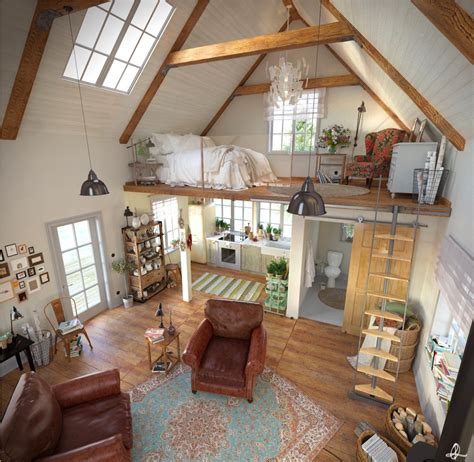 A Studio Loft Which Is A Home And Gallery by Best 25 Loft Apartments Ideas On Loft Style