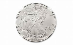2016 1 oz silver eagle burnished brilliant uncirculated With 2016 silver eagle edge lettering