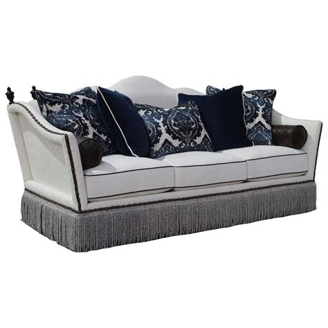 rachlin sofa for sale rachlin classics lorraine lorraine traditional styled sofa