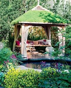 Dach Für Gartenpavillon : der gartenpavillon luxus oder selbstverst ndlichkeit ~ Markanthonyermac.com Haus und Dekorationen