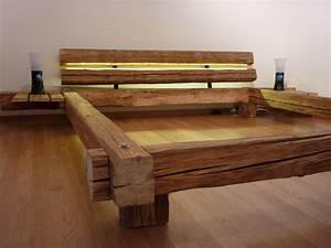 Bett Design Holz : die besten 25 bett holz ideen auf pinterest rustikale betten aus holz rustikale ~ Frokenaadalensverden.com Haus und Dekorationen