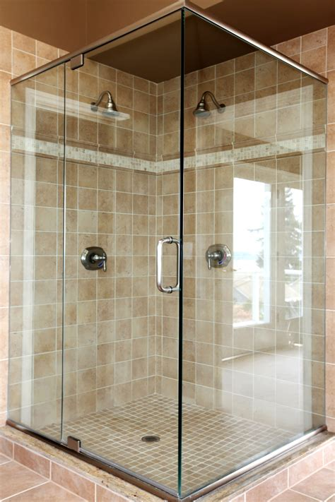 glass doors for showers maryland glass and mirror company custom shower enclosures