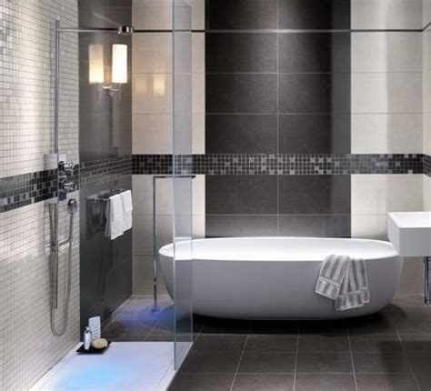 grey shower tile images modern bathroom grey tile