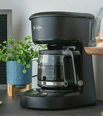 Best to use only stainless steel coffee makers, due to the toxic chemicals emitted into the. Mr. Coffee 5-Cup Programmable Coffee Maker, 25 oz. Mini Brew, Brew Now or Later 53891137539   eBay