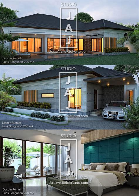 desain rumah tinggal minimalis  luasan