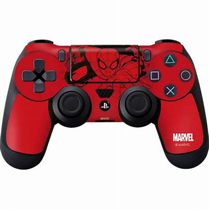 Controller Ps4 Outline Playstation Marvel Deadpool Skin
