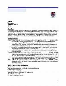 retired military resume templates resume template 2018 With retired military resume templates