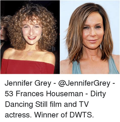 Dirty Dancing Meme - jennifer grey 53 frances houseman dirty dancing still film and tv actress winner of dwts