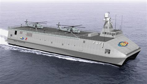 Catamaran Aircraft Carrier Design by Multi Hull Aircraft Carriers Nsdraftroom