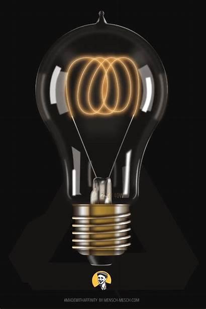 Bulb Filament Vector Carbon Ad Affinity