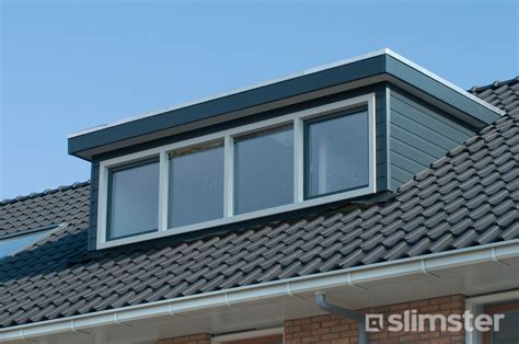 flauw pannendak dakkapel met plat dak laagste prijs via dakkapellen