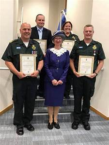 SCAS staff receive commendation from High Sheriff of ...