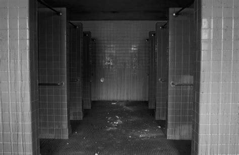 shower stalls photo   abandoned pennhurst state school