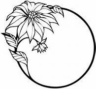 Black and White Flower Clip Art  Flowers Black and White  Black And White Flowers Clipart