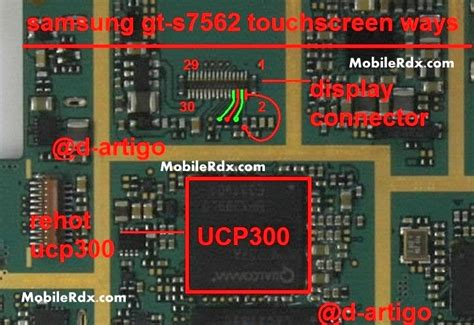 touch l not working gt s7562 touchscreen problem repair ways jumper