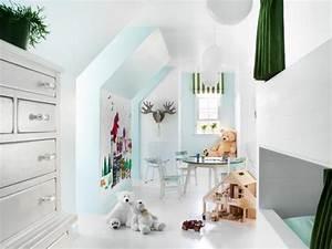 Secret Spring Kissen : 28 einrichtungsideen f r kinderzimmer mit dachschr ge ~ Eleganceandgraceweddings.com Haus und Dekorationen